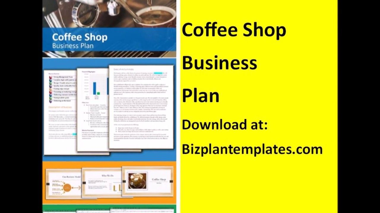 How to write a Coffee shop business Plan template example