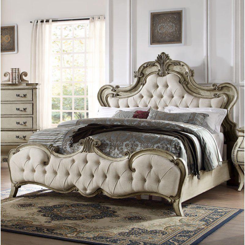Rhinecliff Upholstered Panel Bed Upholstered Bedroom Set King