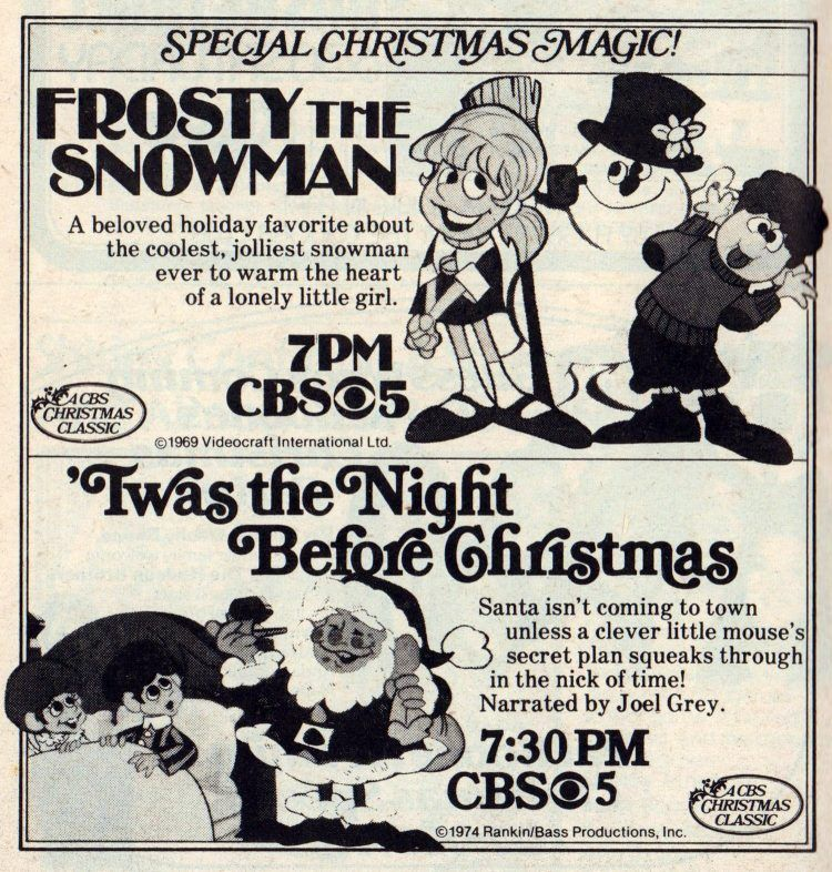 100 vintage Christmas TV specials & holiday episodes you