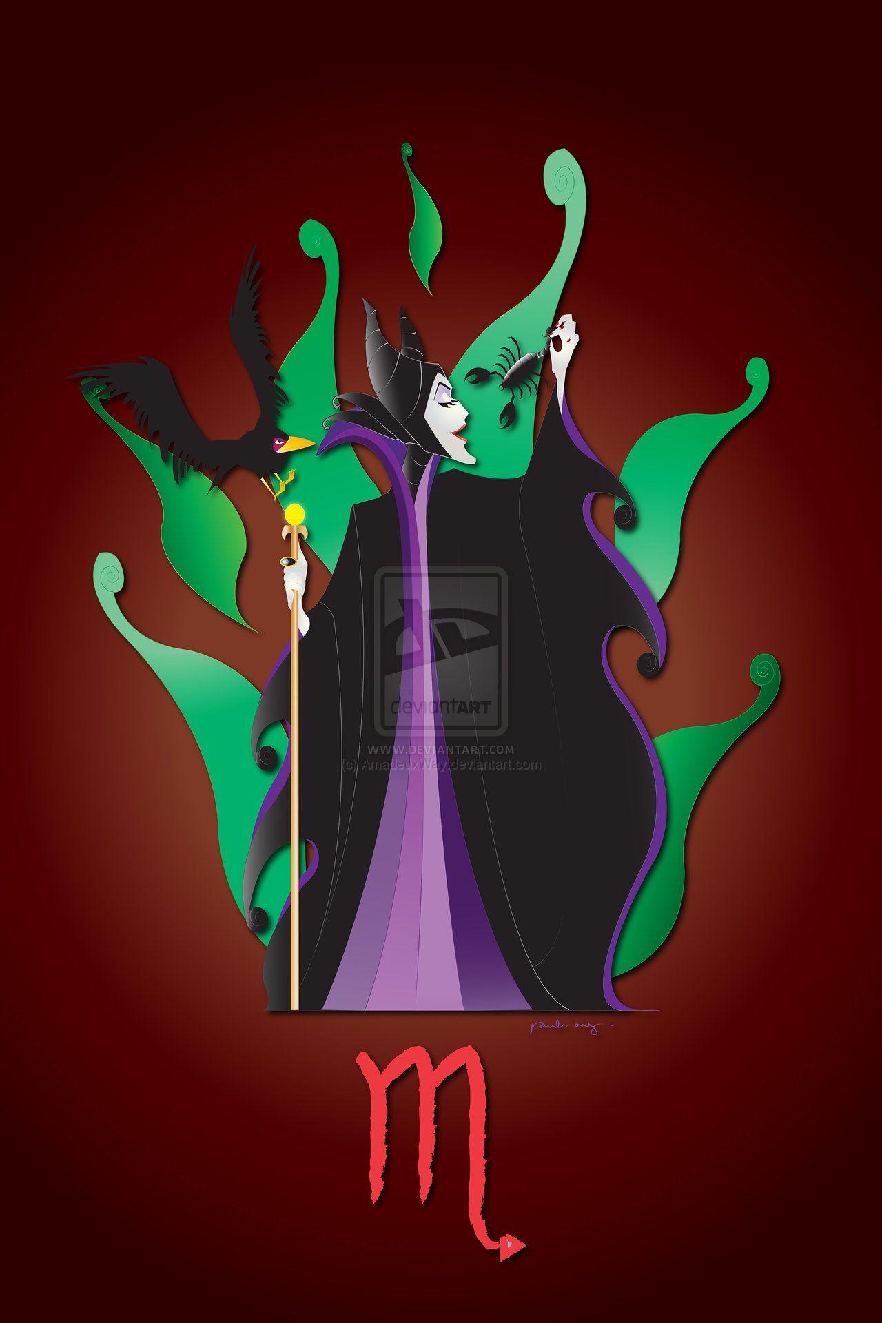 Scorpio+-+Maleficent+by+AmadeuxWay.deviantart.com+on+@DeviantArt