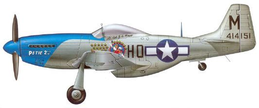 69ceebc88d5db5 A P-51D Mustang of the 478th Fighter Squadron 352nd Fighter Group US Army  Air Force. aka