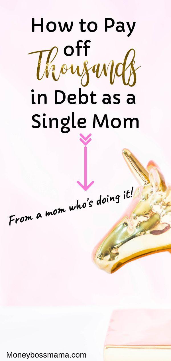 Schulden als alleinerziehende Mutter abbezahlen. Auch bei geringem Einkommen!