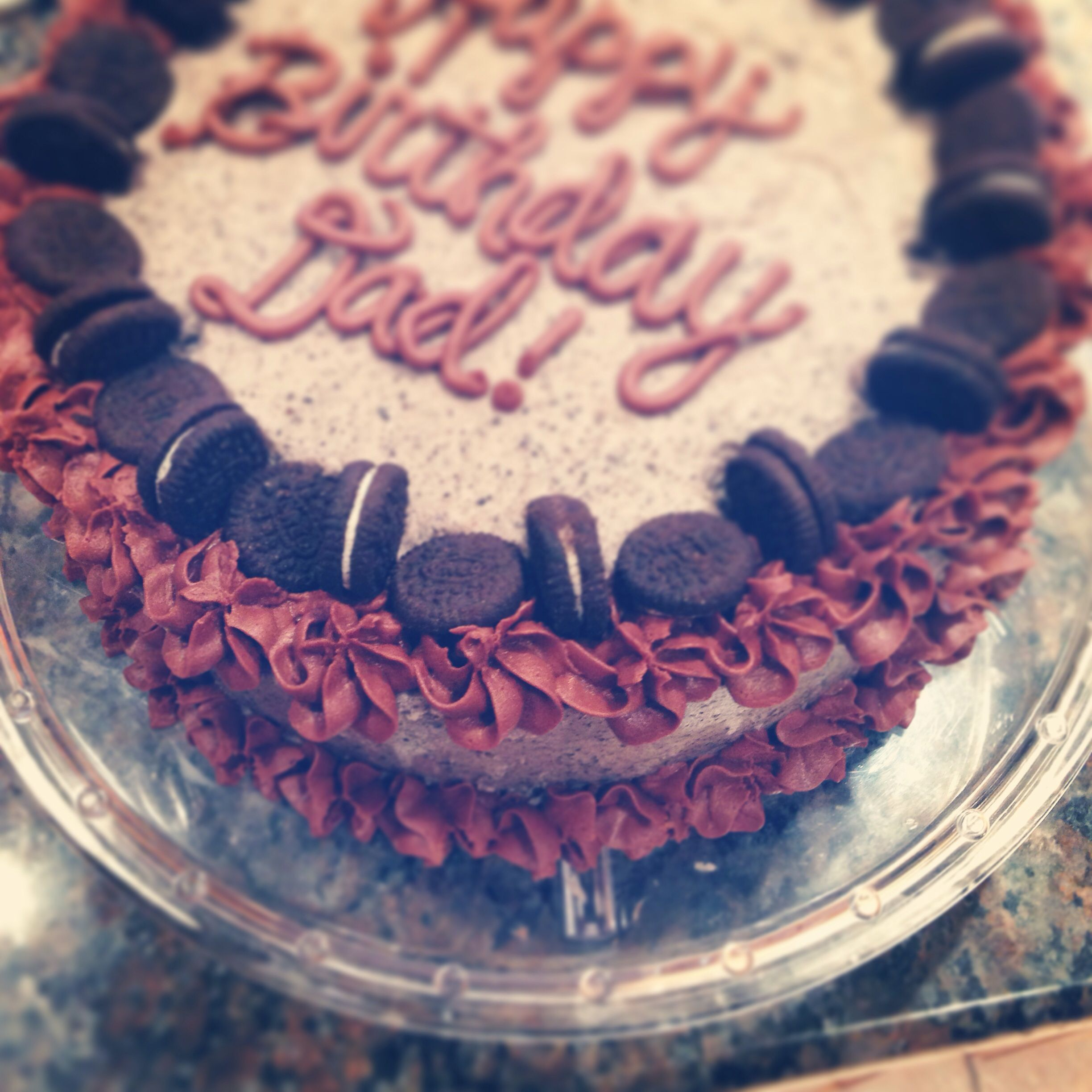 Cookies Cream Oreo cake Candy Cakes Pinterest Candy cakes