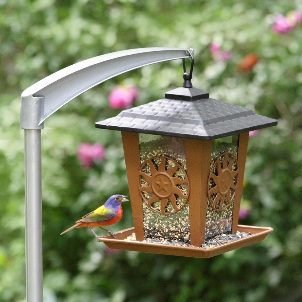 modern bird feeder pole  bird feeders  pinterest  bird feeder  - bird feeder