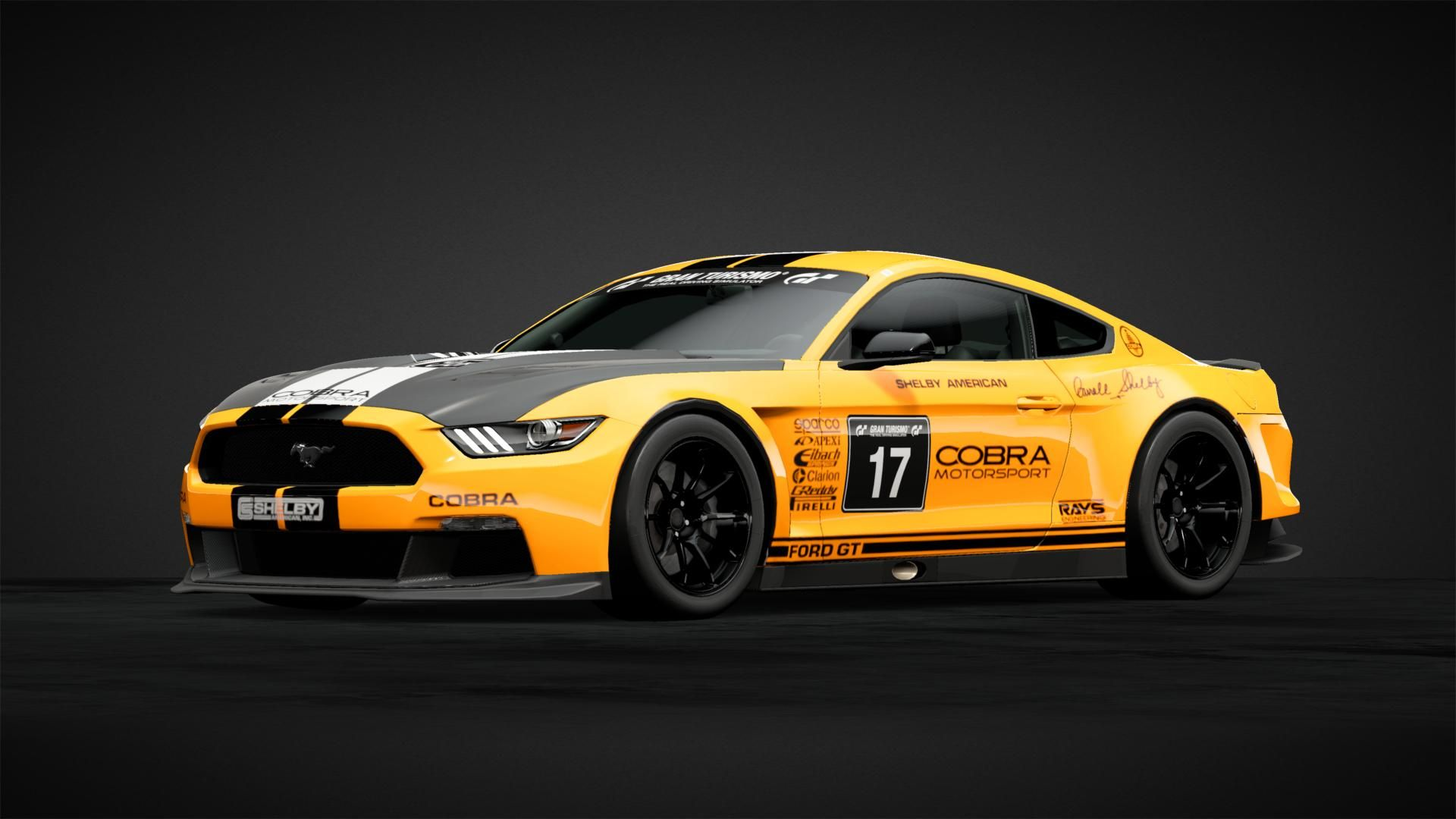 Shelby Super Snake 2 3 Y Car Livery By Gearmeister Community Gran Turismo Sport Shelby Cobra Racing Car Design Mustang