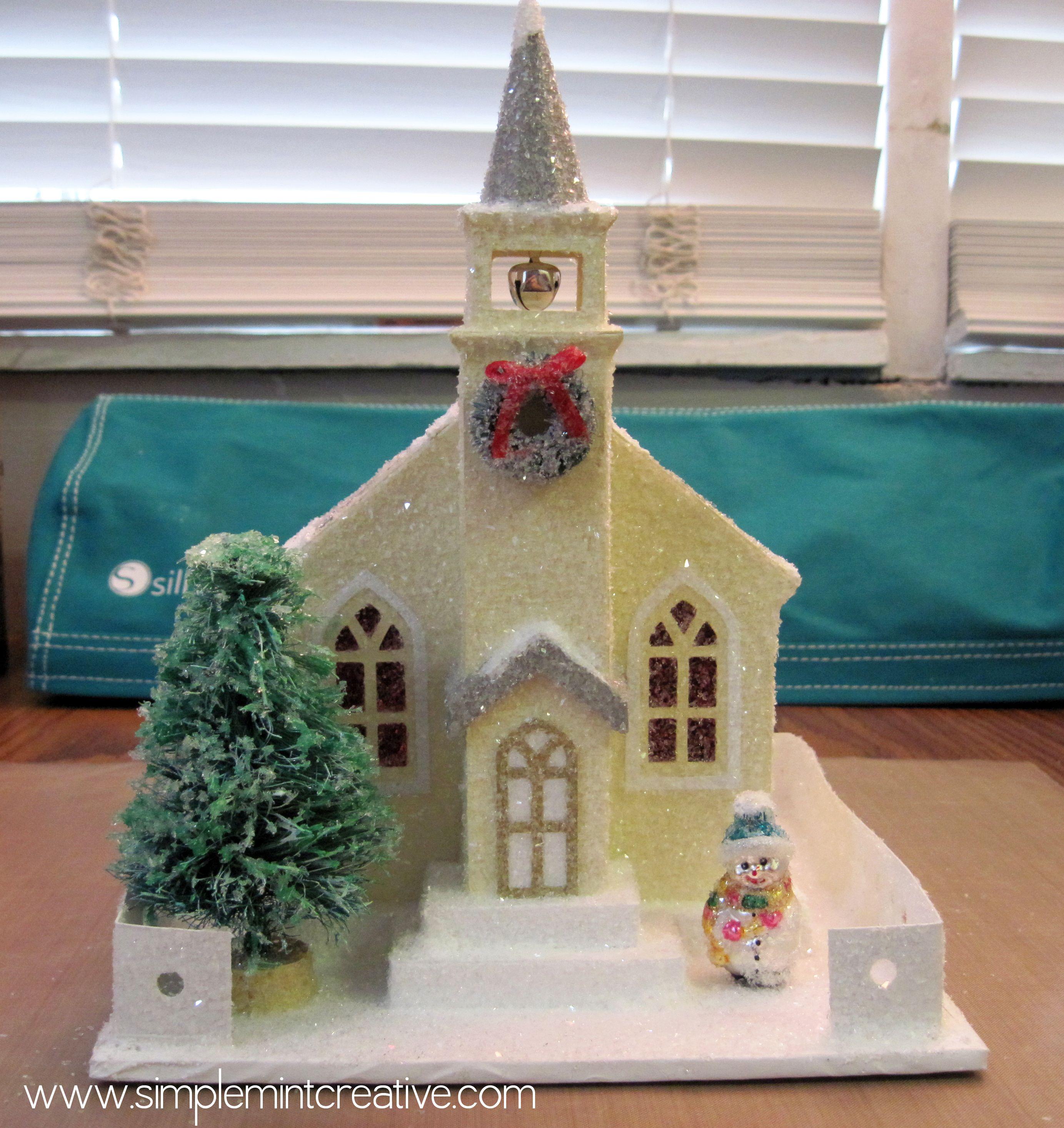"""Putz"" Style Church Tutorial | Simple Mint Creative"