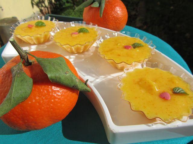 A la rica Mandarina curd !!! Deliciosa crema para rellenar pasteles, tartas, hojaldre, tartaletas, ...Está para comerla a cucharadas! Con ...
