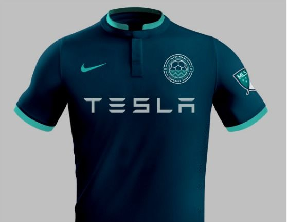 Here S An Amazing Design For How Miami S New Pro Soccer Team Should Look Miami New Times Miamiadschool Tesla Mls Teams Soccer Shirts Sports Jersey Design