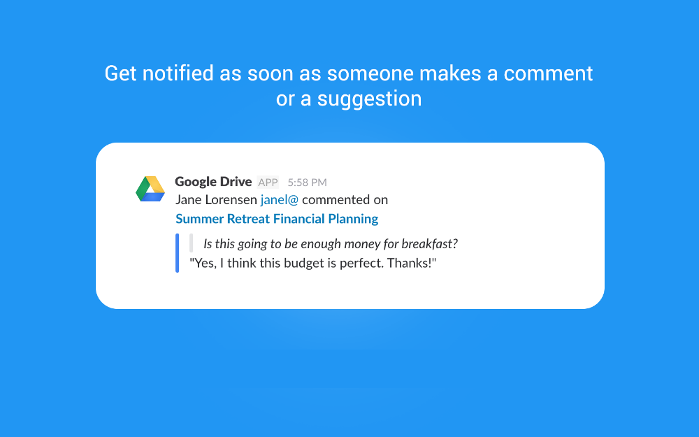 Google Drive Slack App Directory Google drive, Google