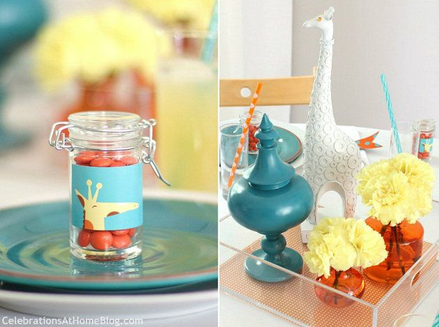 Giraffe Themed Baby Shower Ideas
