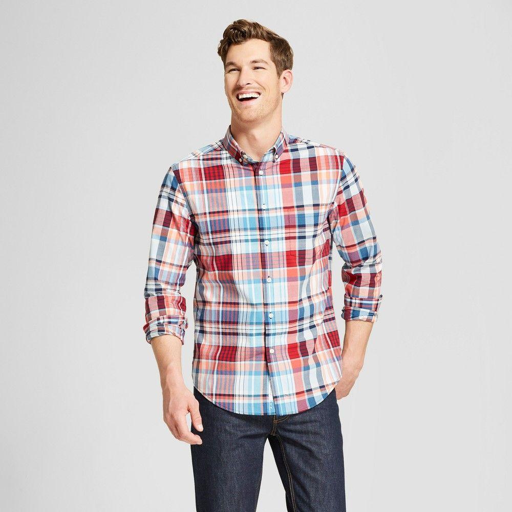 Menus Standard Fit Long Sleeve Northrop ButtonDown Shirt
