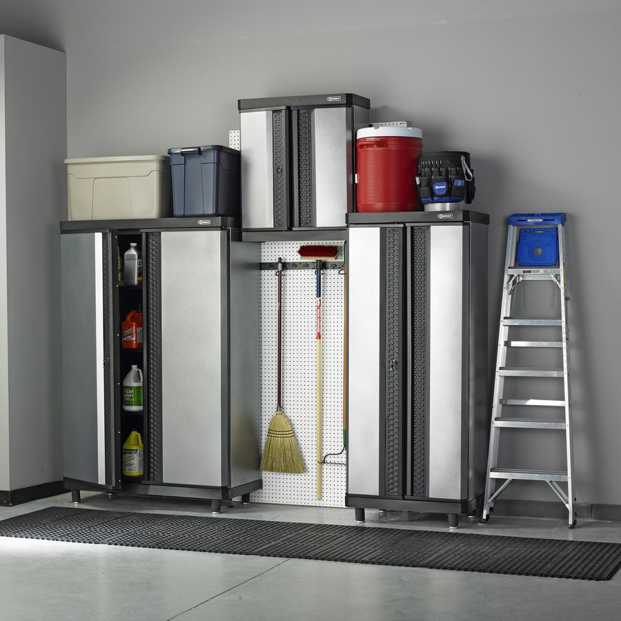 Shop Kobalt 72-in H x 48-in W x 20-in D Metal Multipurpose Cabinet at Lowes.com