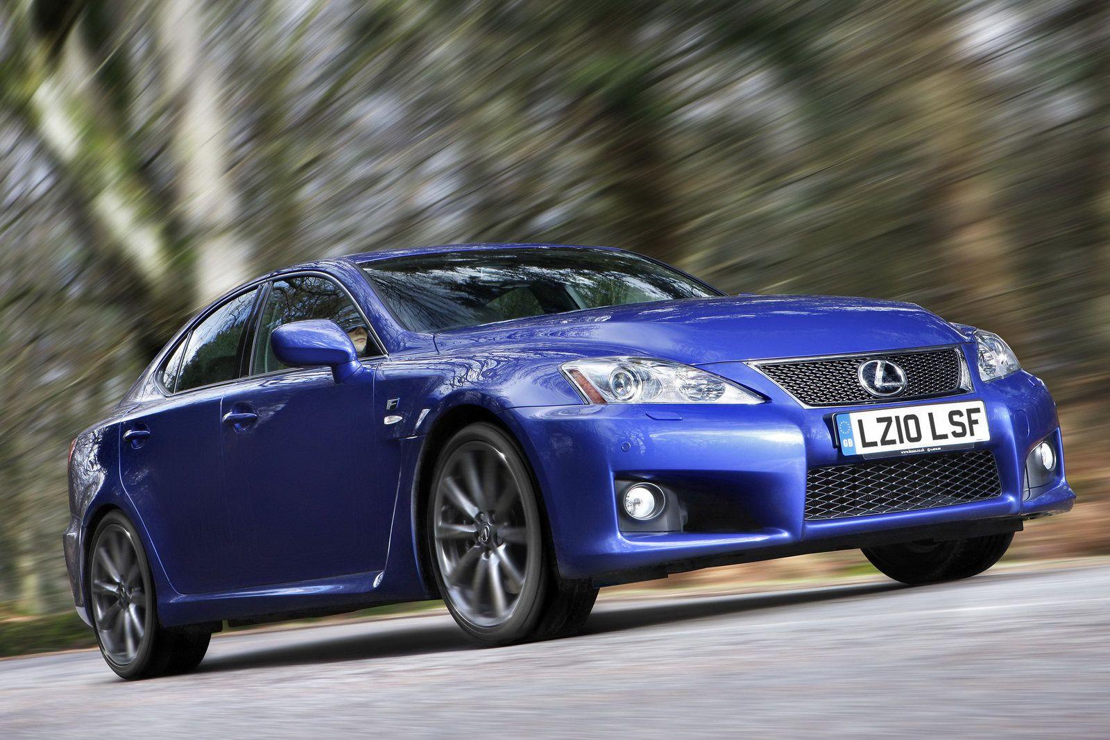 Lexus IS-F Azul