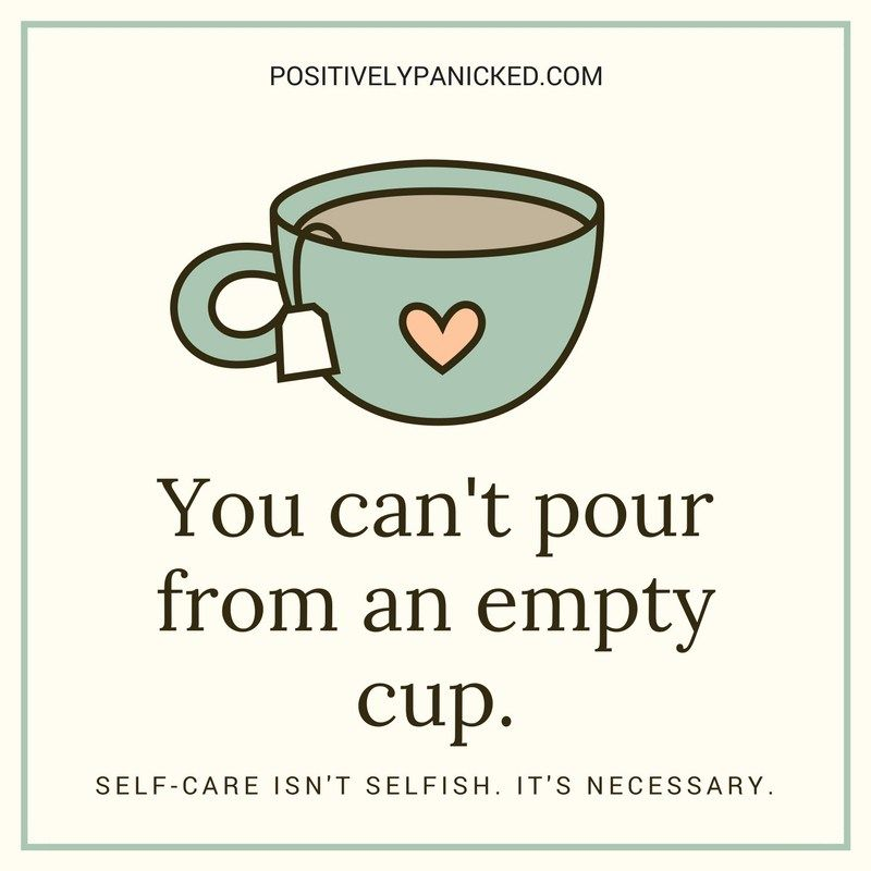 You Cant Pour From An Empty Cup Meditation Self Care Quotes Self