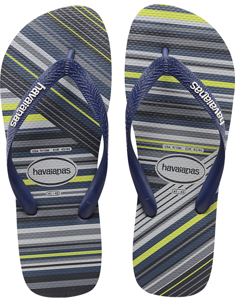 3c8116dab9b28 Striped Flip Flop for Men - The Trend Flip Flop - Havaianas. Find this Pin  and more on men slippers