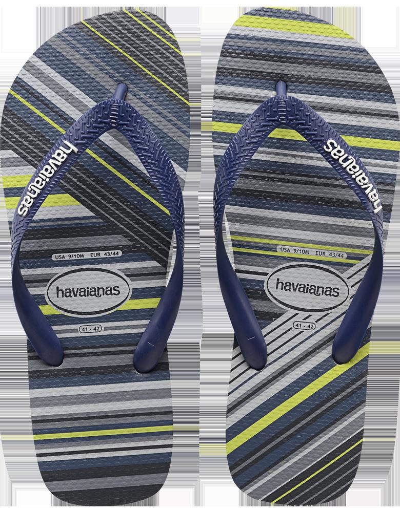 5ea7bdc639f0e9 Striped Flip Flop for Men - The Trend Flip Flop - Havaianas