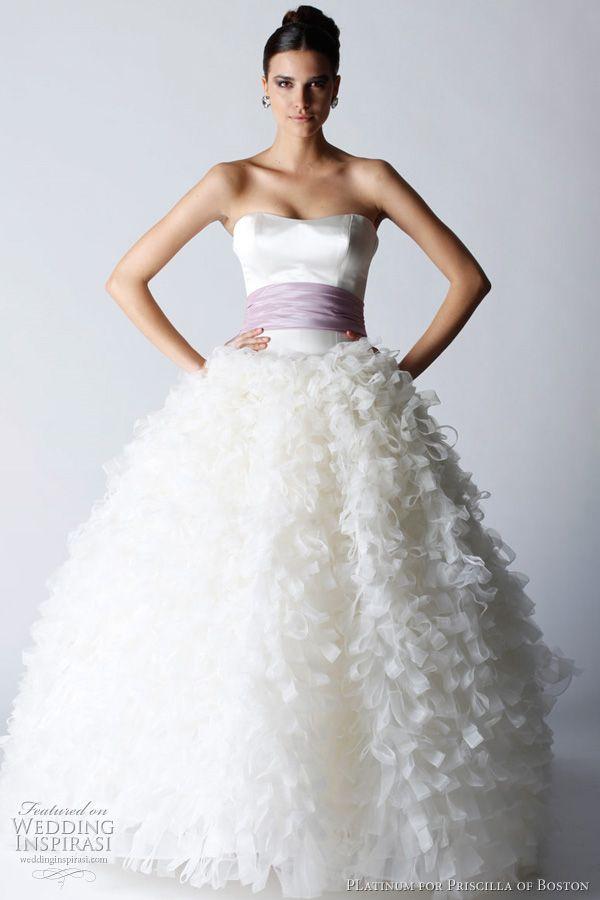 Platinum for Priscilla of Boston Fall 2011 Wedding Dresses | Wedding ...