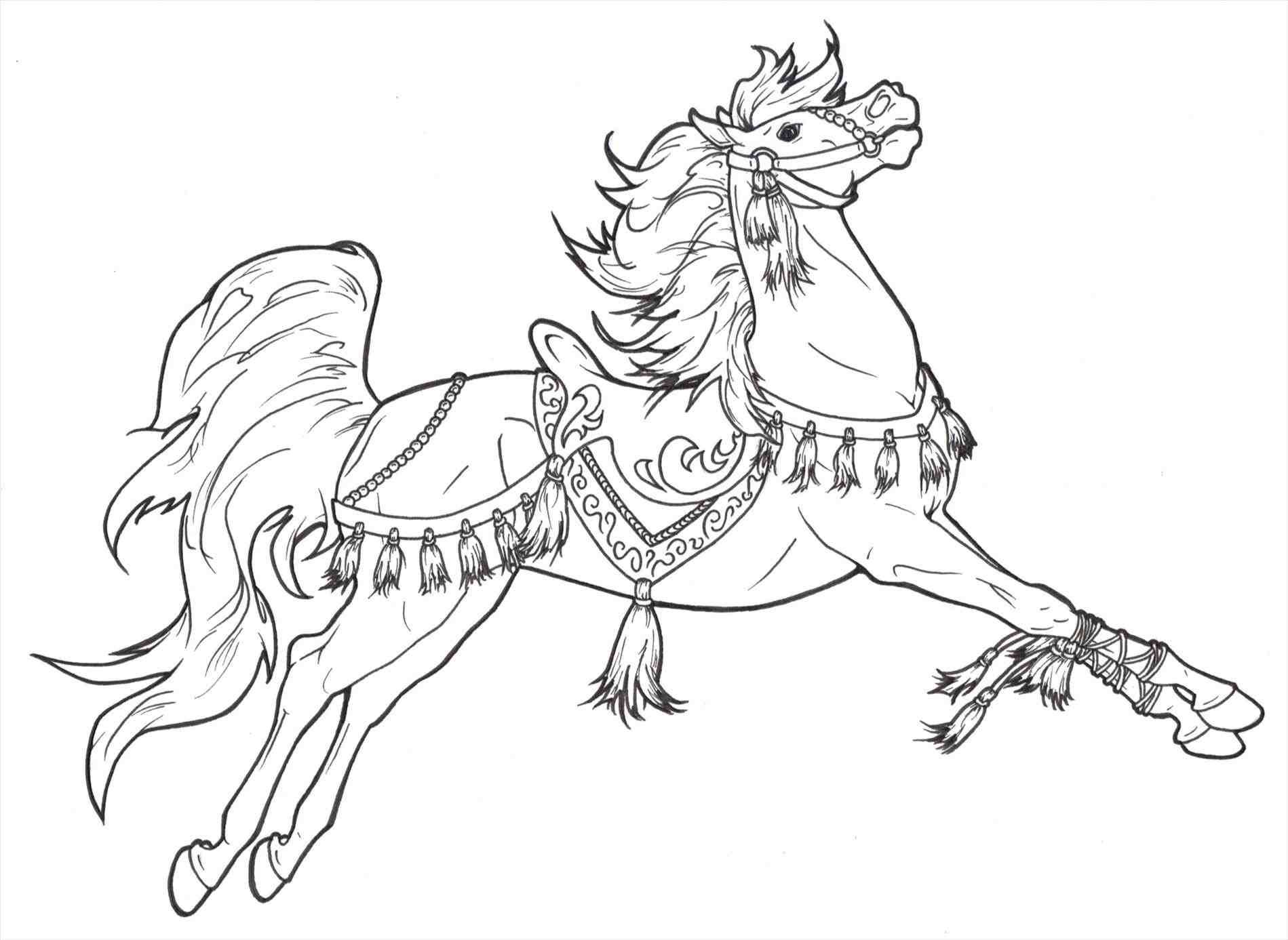 new post christmas horse drawing