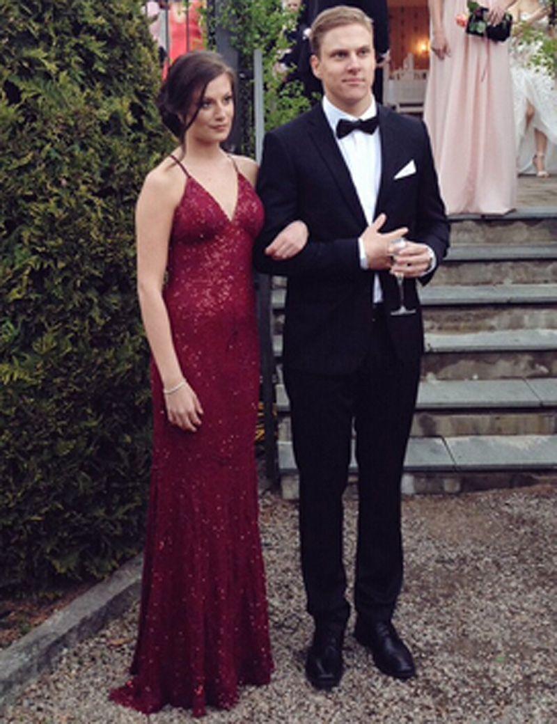 Prom dressesevening dressparty dresses sexy long v neck