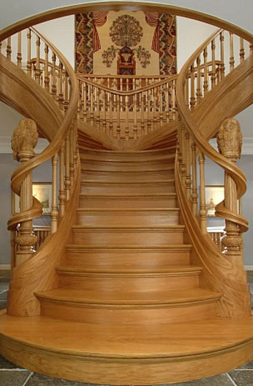 Best Art Nouveau Style Staircase Room By Room Pinterest 640 x 480