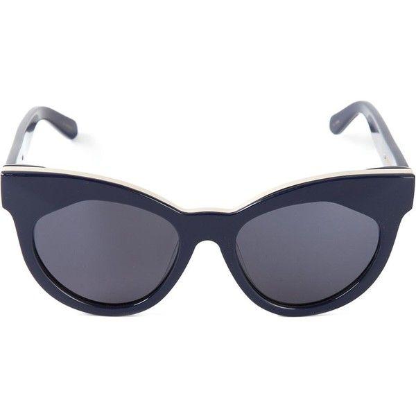 23d9d746d7fc Descubre ideas sobre Gafas De Sol De Karen Walker. Karen Walker Eyewear  Starburst Sunglasses ($192) ❤ liked on Polyvore featuring accessories ...