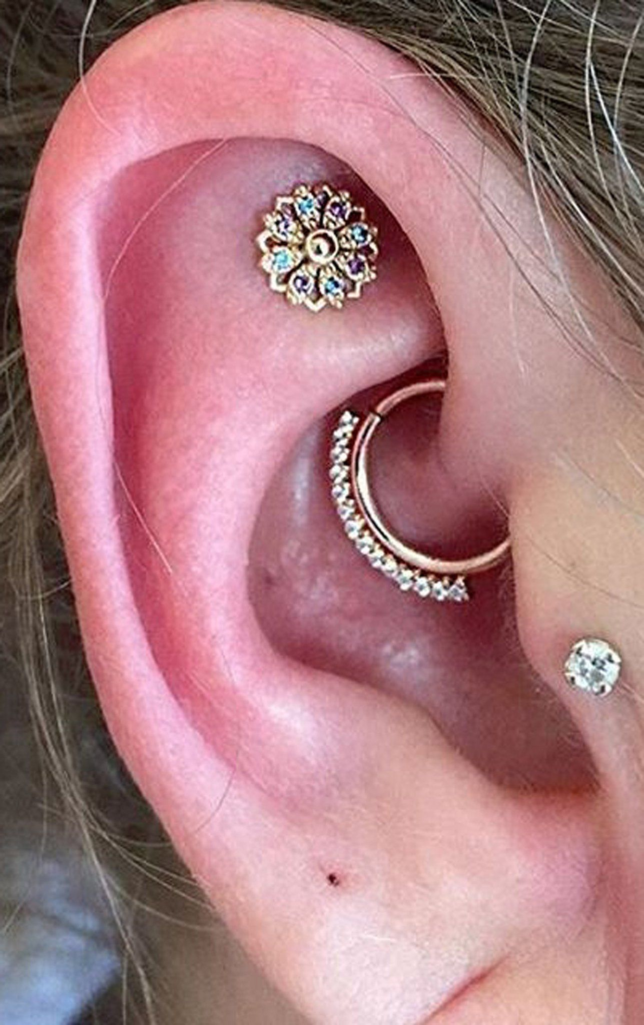 Steal These 30 Ear Piercing Ideas
