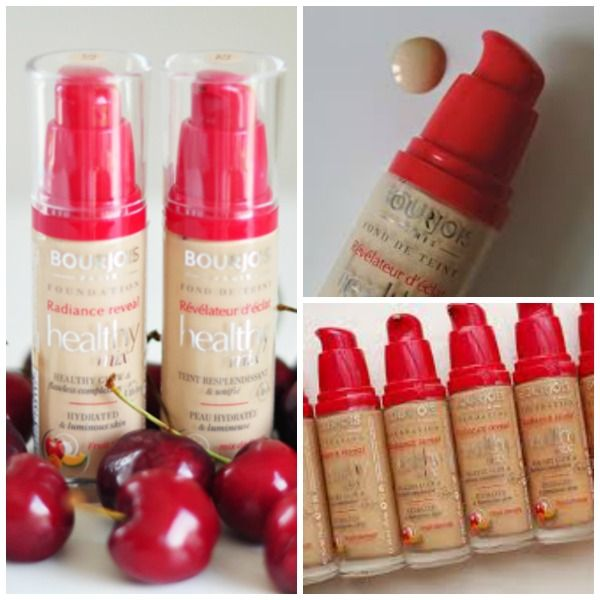 Bourjois Healthy Mix Radiance Reveal Foundation Healthy Mix Concealer Bourjois Healthy Mix Healthy Mix Radiance