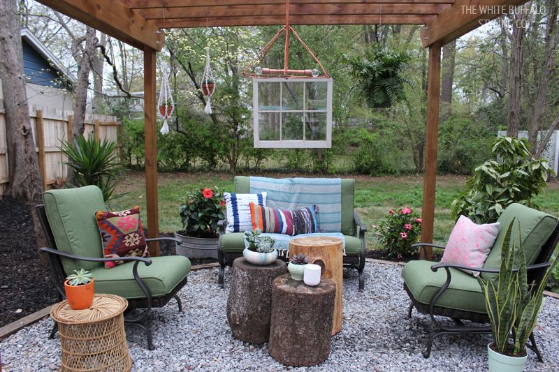How To Go From Patio To Outdoor Room Blogger Home Projects We