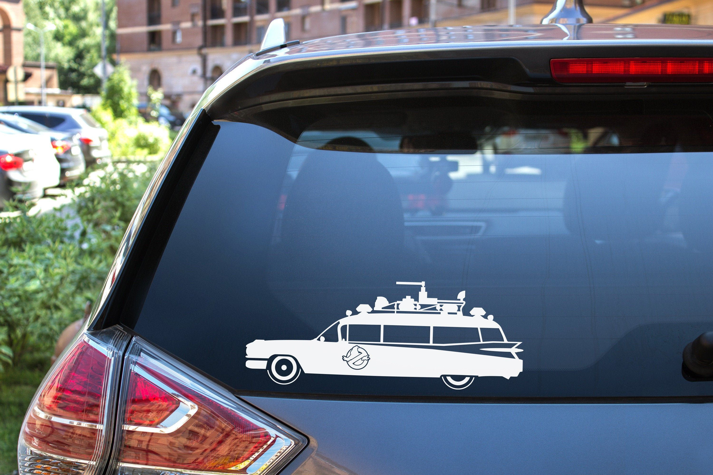 Ghostbusters Vinyl Decal Sticker Ecto 1 Car Decal Sticker Etsy Laptop Decal Stickers Car Decals Car Decals Stickers [ 2000 x 3000 Pixel ]
