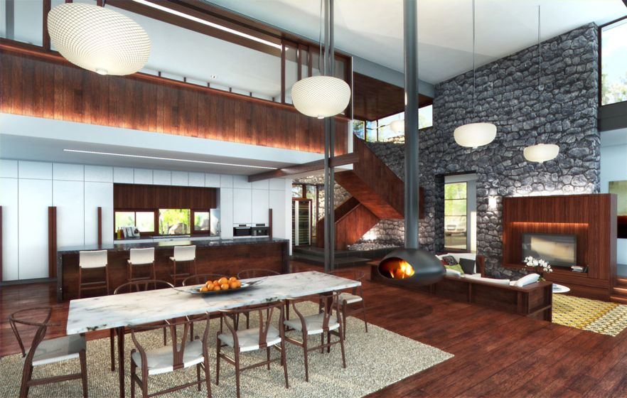 Brookfield House by Shaun Lockyer Architects