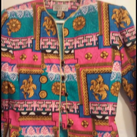 Adrianna Papell Silk Jacket  OBO 💛💕💜 Gorgeous Adrianna Papell Silk Jacket size 4 Adrianna Papell Jackets & Coats