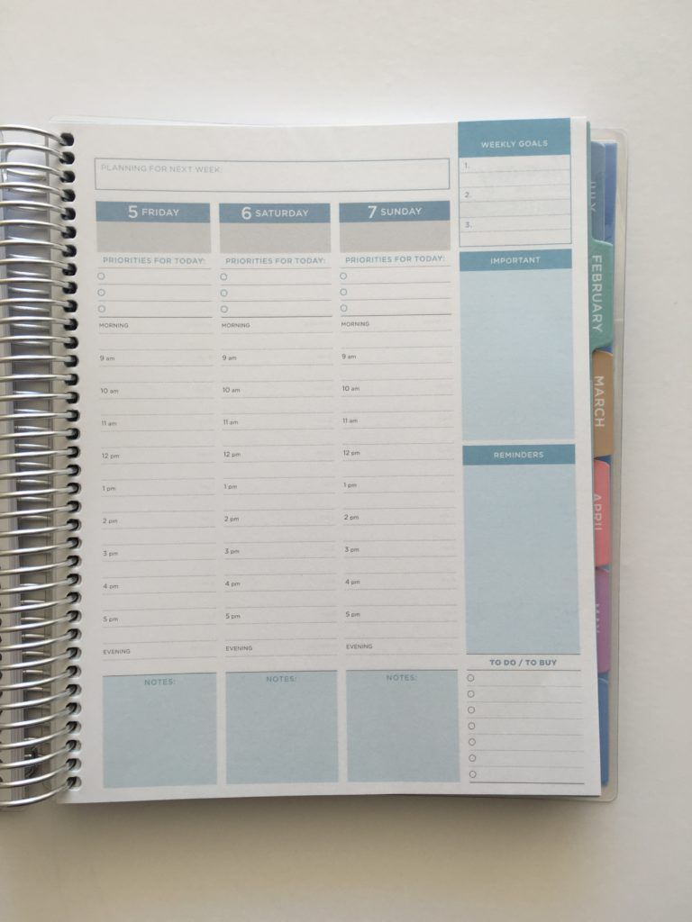 otto 2018 business planner review from officeworks planner