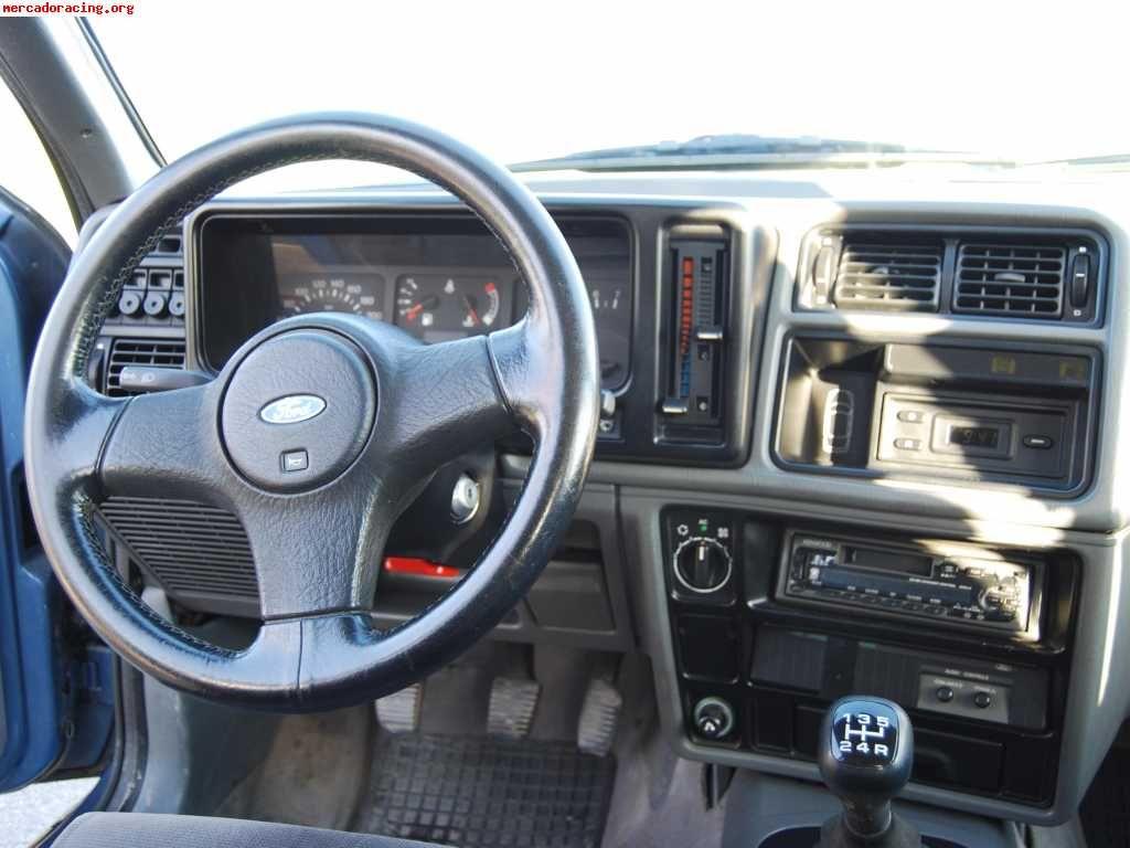 Vendo Ford Sierra Cosworth Sapphire 2wd Avec Images Tableau De