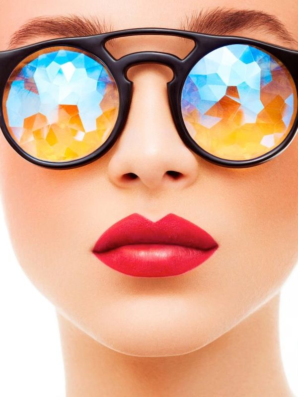 Óculos caleidoscópio!   Moda Fashion em 2019   Lunettes, Lunettes de ... 635d533b4f