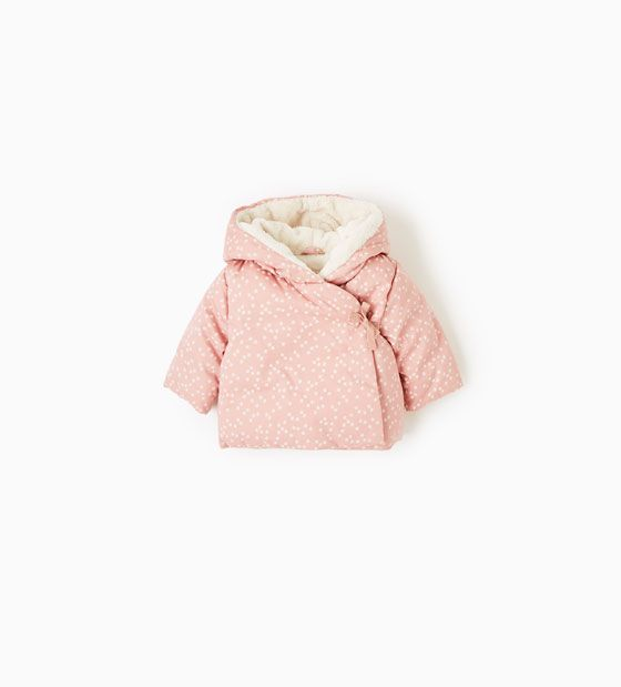 f3b81f6d61d Image 1 of Hooded parka with stars from Zara   Baby & Kids Things ...
