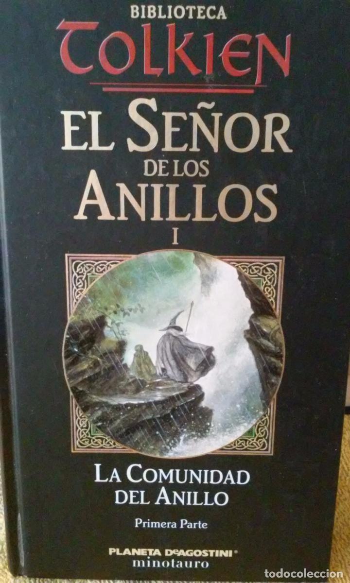 EL SEÑOR DE LOS ANILLOS TOMO 1 LA COMUNIDAD DEL ANILLO PRIMERA PARTE - J.R.R.TOLKIEN (Libros sin clasificar)