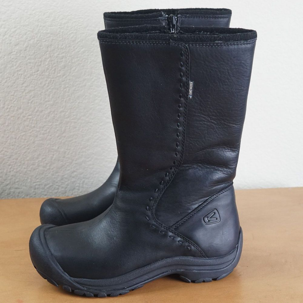 Keen Dry Womens Boot Mid-Calf Black