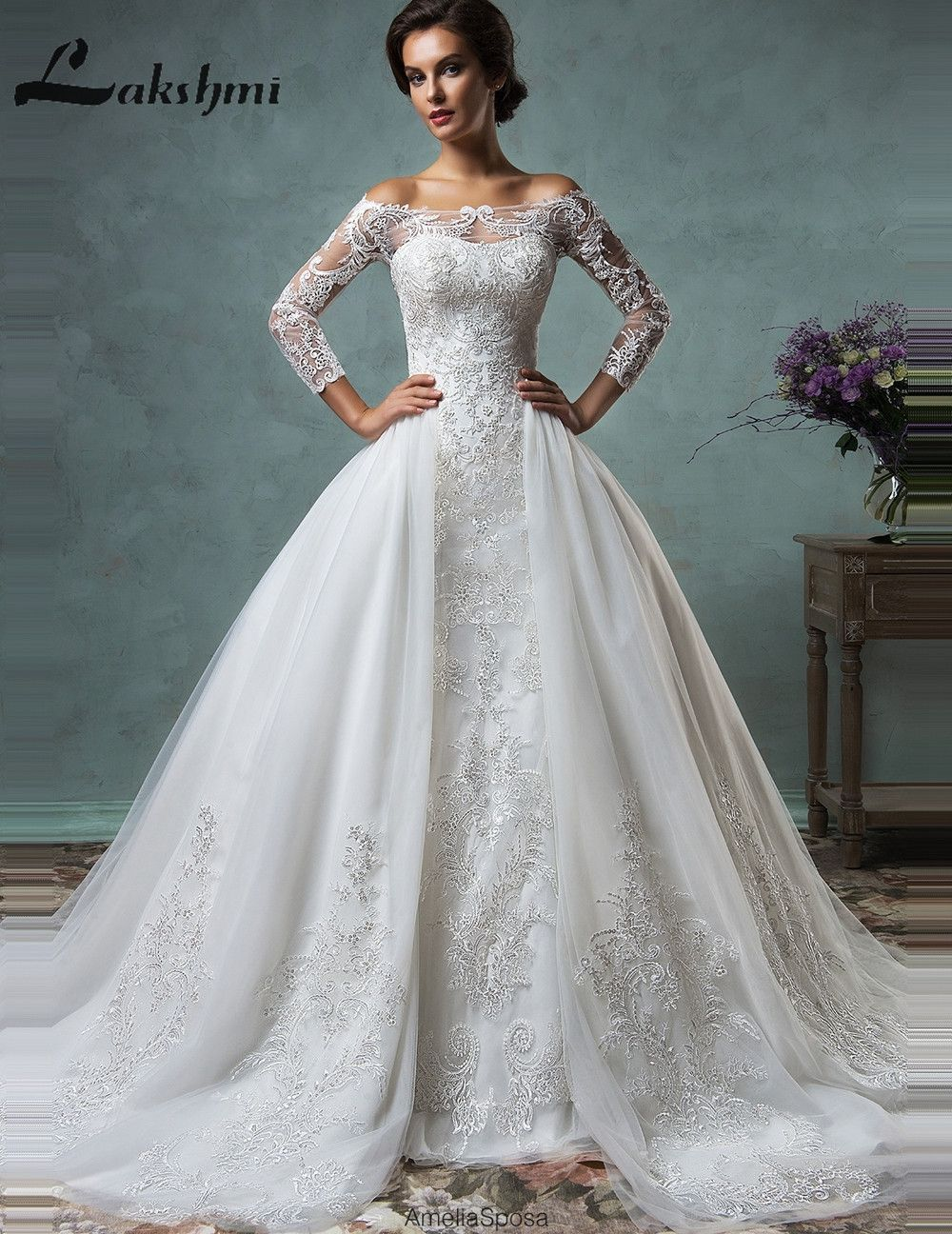 Item Type Wedding Dresses Train Detachable Train Back Design