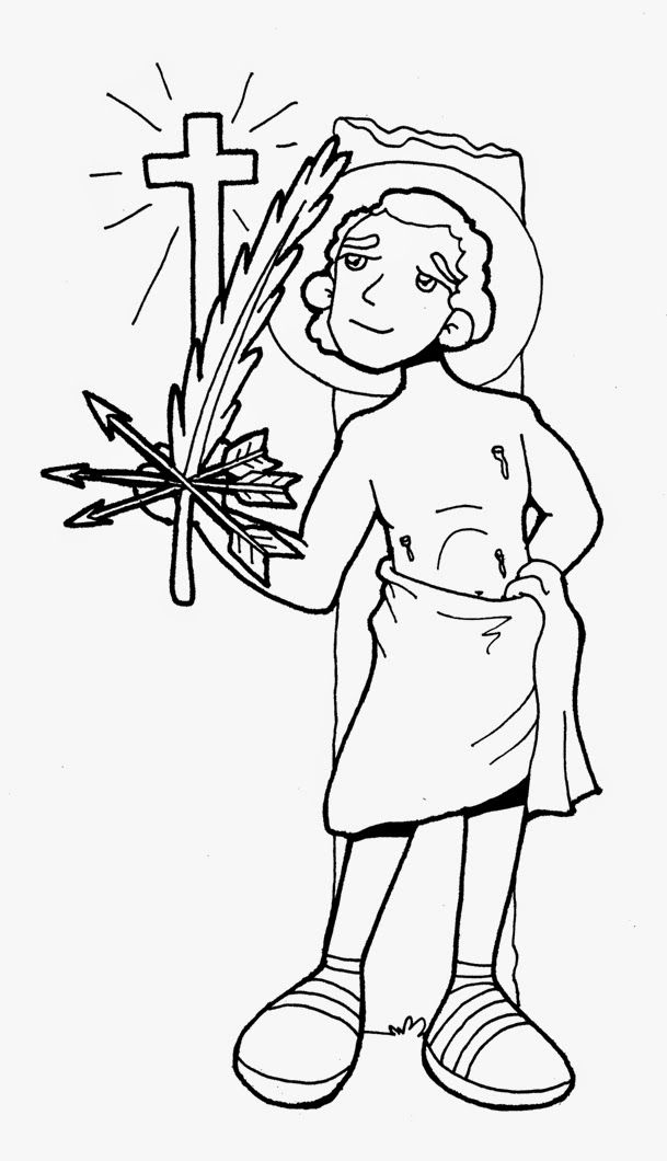 Dibujos para catequesis: Santos