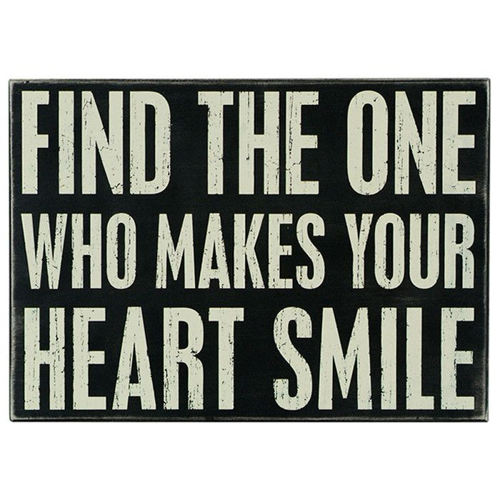 Find The One Who Makes Your Heart Smile Wall Art Amazingart