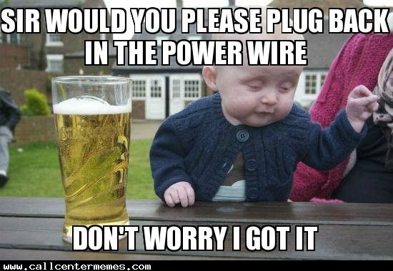 Funny Baby Meme Creator : Baby tech support http: www.callcentermemes.com baby tech support