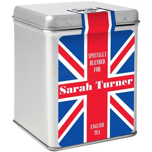 Personalised Tea - Union Jack  from Personalised Gifts Shop - ONLY £9.95