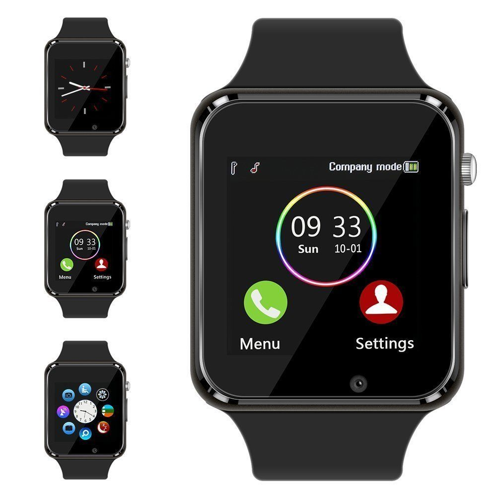 New Bluetooth Smart Watch & Phone with Camera For iPhone