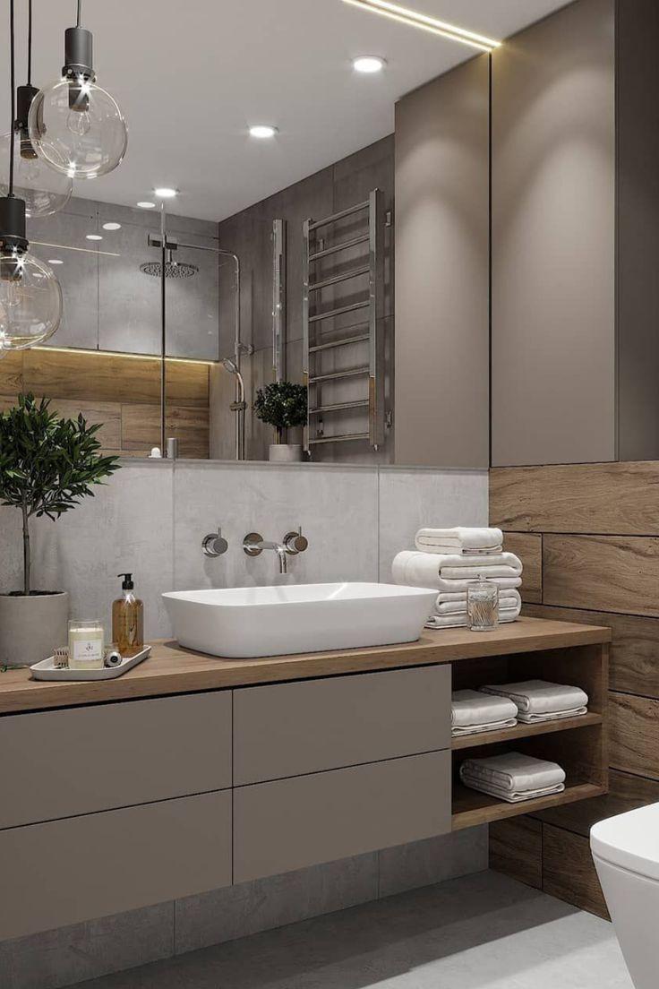 Banheiro Decorado: 25 Modelos Lindos e Modernos para Inspirar seu Projeto