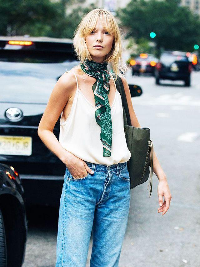 10 Stylish Ways to Tie a Silk Scarf, From Fashion Girls