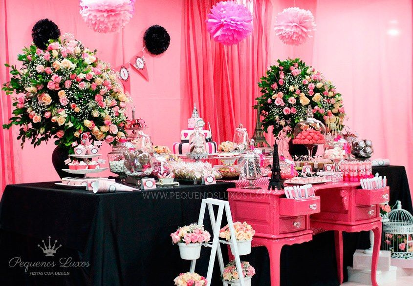 Paris Themed Baby Shower | ... . So Many Wonderful Ideas For A Memorable
