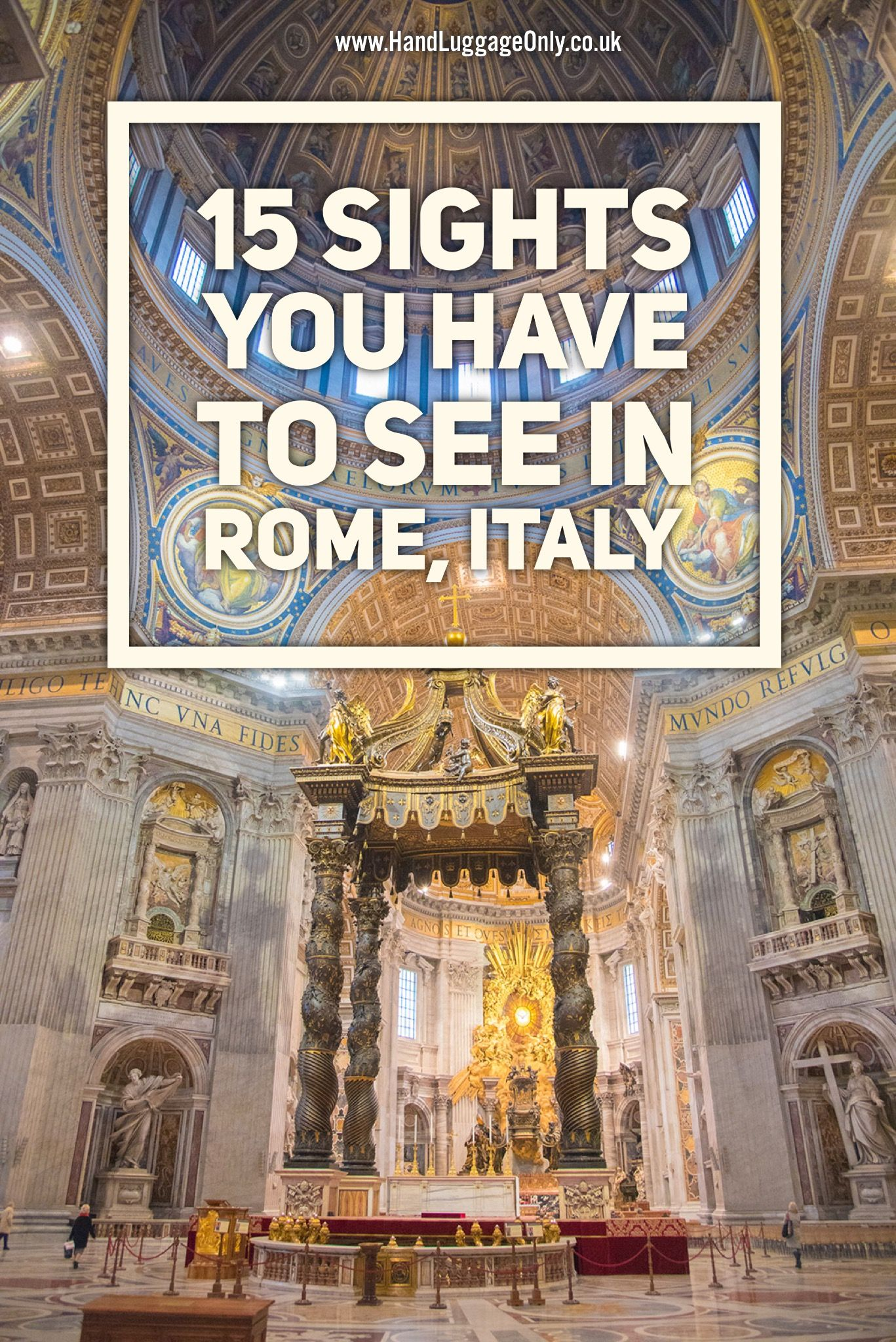Things You Have To Do In Rome Italy Rome Italy Rome And Italy - 8 must see attractions in rome