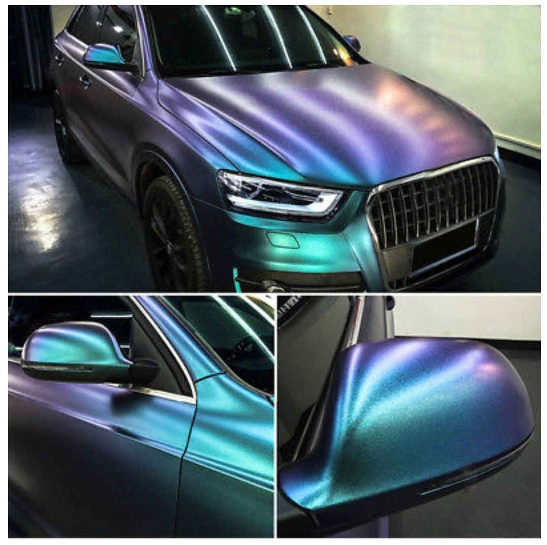 Green purple wrap vinyl wrap car car wrap car paint jobs
