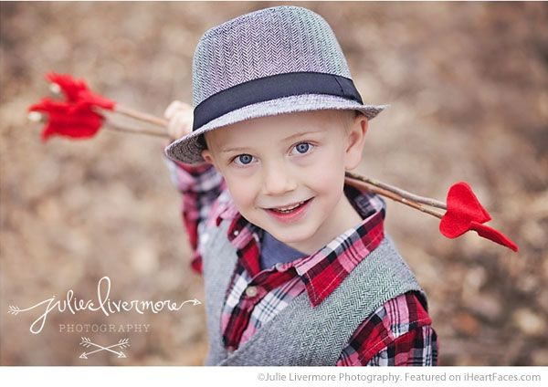 57bc6b14d990f Cute Boy Cupid25+ Cute Valentine Photo Session Ideas for Kids - Photo by  Julie Livermore Photography