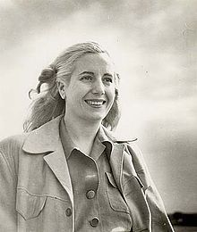 """#Evita - Eva Peron in """"worker's"""" clothing - an idolatry picture?"""